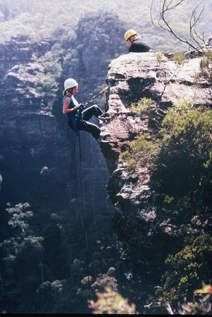 High 'n Wild Mountain Adventures: abseiling with high and wild