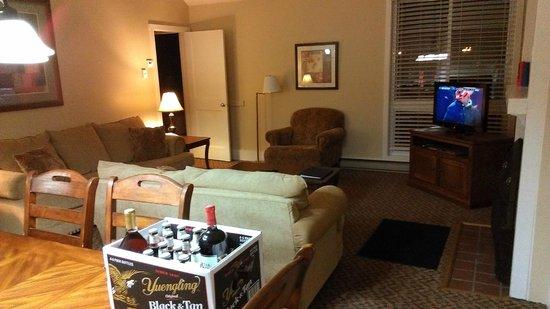 Wyndham Shawnee Village Resort: Living Room
