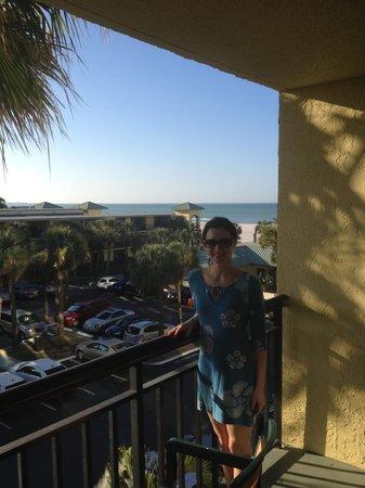 Sirata Beach Resort: Hotel balcony