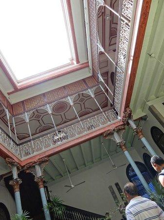Cheong Fatt Tze - The Blue Mansion: courtyard view