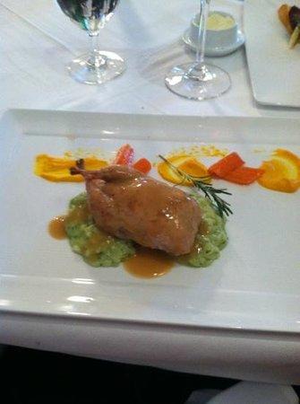 Villa Mozart:                   quail