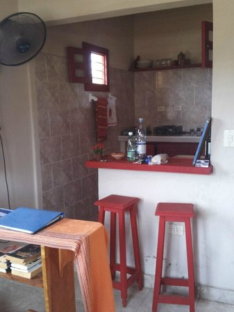 Casa El Tulipan:                   Kitchenette