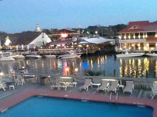 Shem Creek Inn:                   Restaurants across the creek