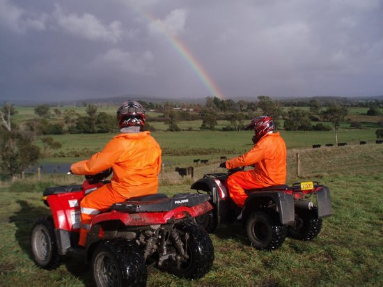 Kookaburra Ridge Quad Bike Tours: Scenic countryside.