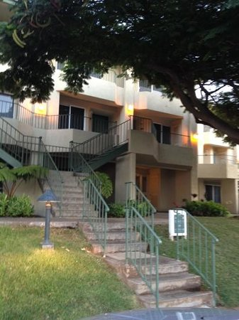 Paniolo Greens Resort:                   stairs to two story vacation home with two bedrooms