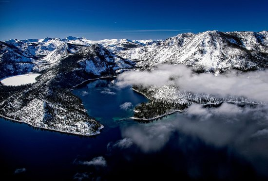 South Lake Tahoe, CA: Emerald Bay & Cascade Lake