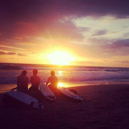 Cabinas Playa : sunsets at the beach