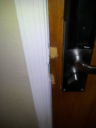Legacy Vacation Resorts: 2nd door latch