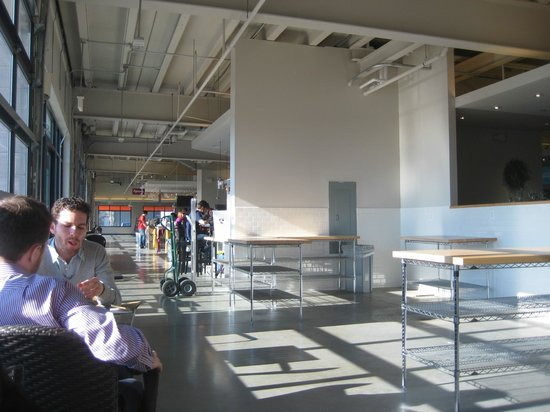Union Market: Lots of room to sit and enjoy lunch