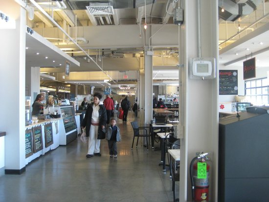 Union Market: Some of the stands