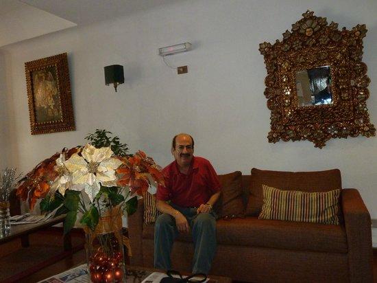 Presidente Hotel Santiago: su estancia, bastante aceptable, aunque nula privacidad.