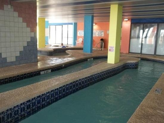Huge Indoor Lazy River Hot Tubs Picture Of Captain S Quarters Resort Myrtle Beach Tripadvisor