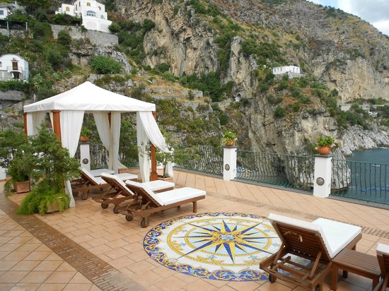 Hotel Onda Verde: Onda Verde terrace