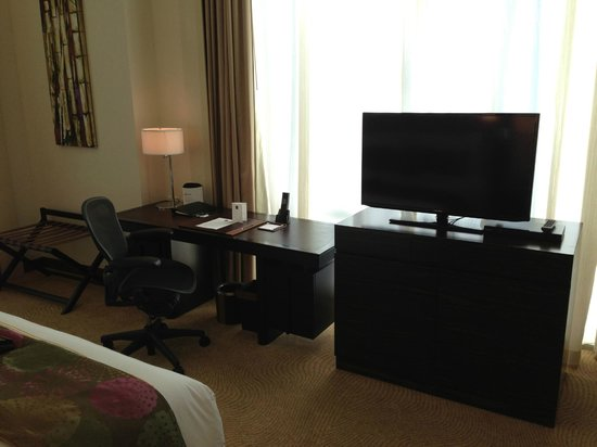 fairmont makati desk and tv in bedroom - Tv In Bedroom