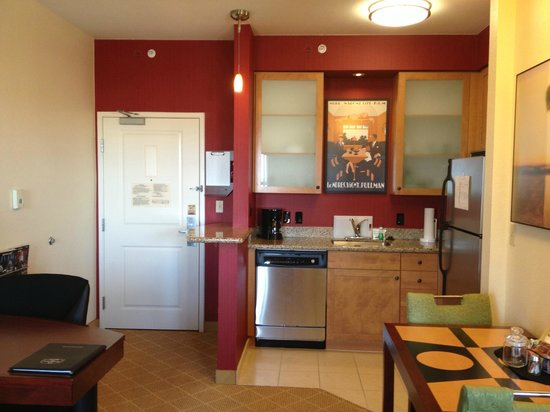 Residence Inn Melbourne : Studio Suite - Kitchen