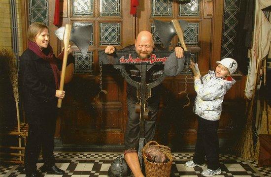 The Amsterdam Dungeon : Обязательное фото при входе