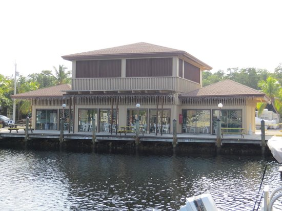 Key Largo Kampground and Marina : Clubhouse