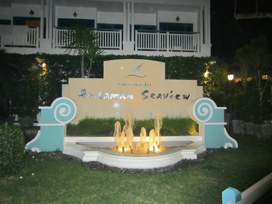 Andaman Seaview Hotel: Entrance