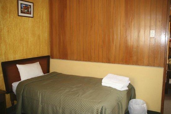La Posada del Colca : Bed