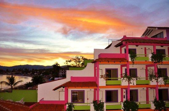 Decameron Los Cocos: Morning over Coco's 1
