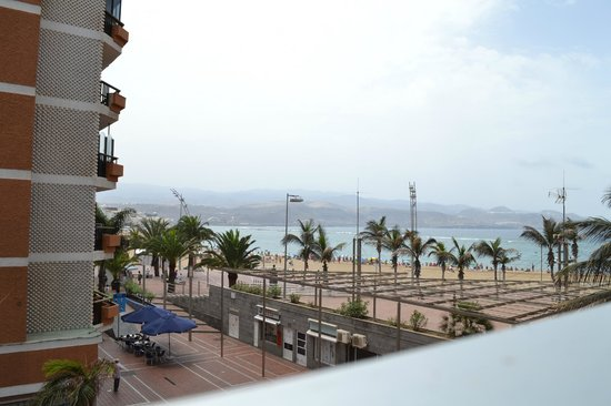 Hotel RK Aloe Canteras : View from the room during the day