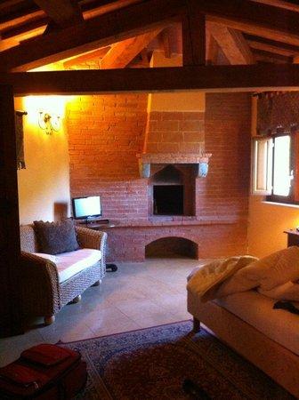 Castello delle Serre: Our room