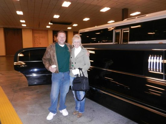 Limo Pickup At Hotel  Picture Of Papillon Grand Canyon