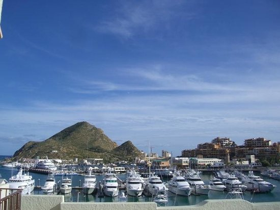Tesoro Los Cabos: View if you walk out to patio