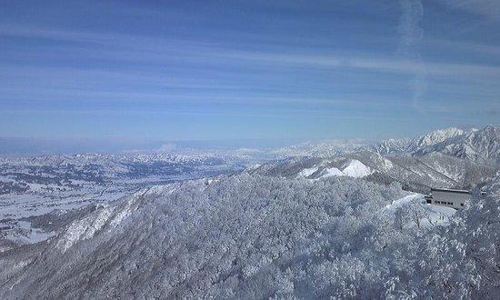 Iwappara Ski Resort: 眺望抜群