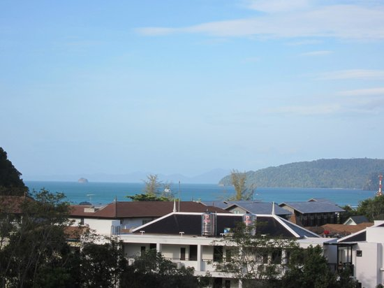 The Royal Nakara: View of beach from verandah