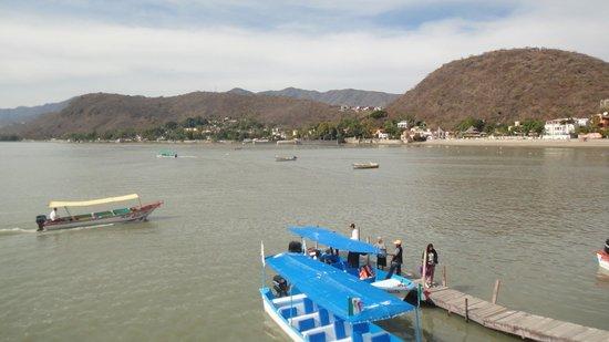 Chapala Malecon: Vista al lago de Chapala