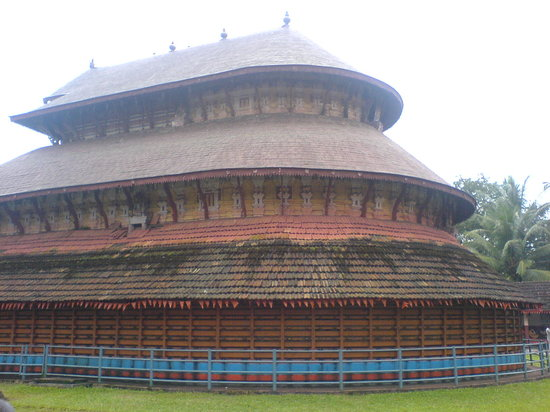 Kasaragod, Ινδία: Side view of the dome