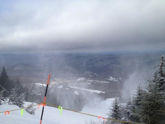 Killington Resort: view from K1
