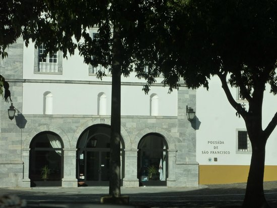 Pousada de Beja, Sao Francisco: Front entrance