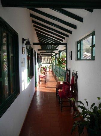 Hospederia El Marques de San Jorge: hallway