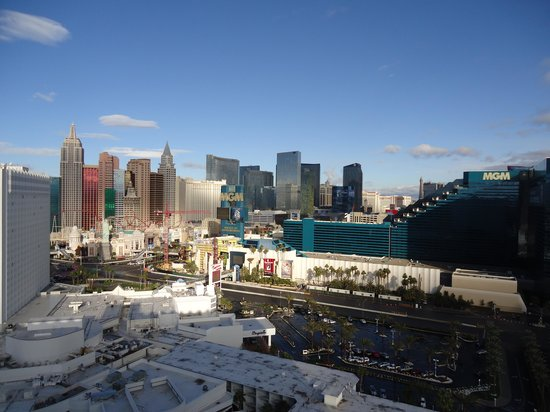 strip view from the club tower picture of tropicana las vegas a rh tripadvisor ie