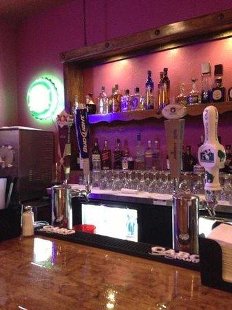 Azul Tequila Bar and Grill: love the custom bar