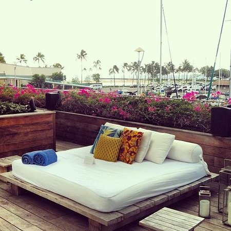 The Modern Honolulu: What got me in the first place... Gorgeous poolside & What got me in the first place... Gorgeous poolside beds - Picture ...