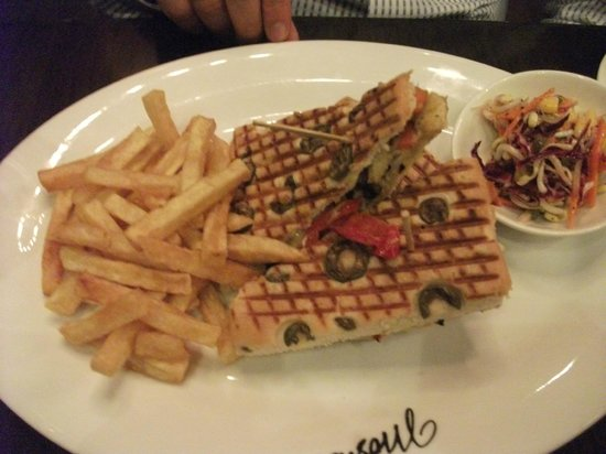Cafe Moshe's : Sandwich