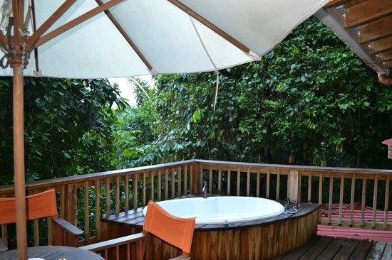 Ian Anderson's Caves Branch Jungle Lodge: Two bedroom tree house