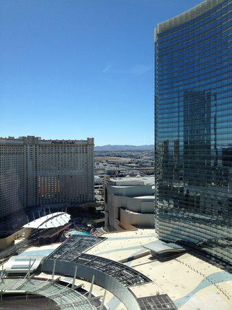 ARIA Resort & Casino: The view from our window