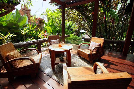 Villa Arya Ubud : Gedong terrace