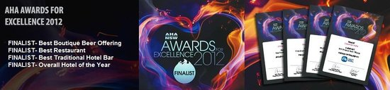 The Clarendon Hotel: Finalists, 2012 AHA Awards for Excellence