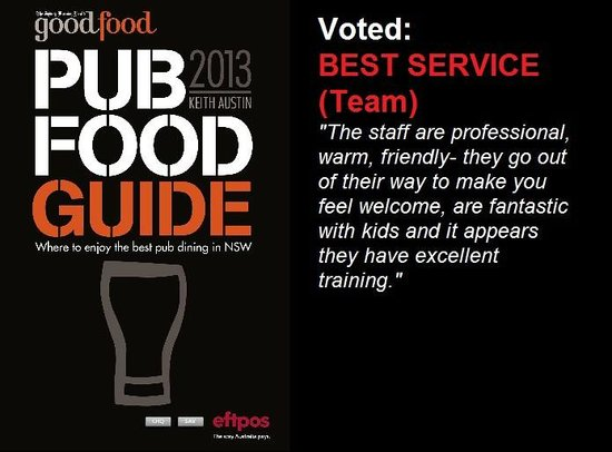 The Clarendon Hotel: Voted: Best Service (Team)