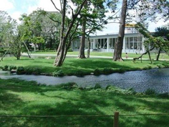 Mars Garden Wood Gotemba: ホテル庭