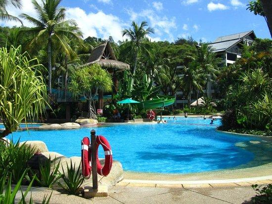 Shangri-La's Rasa Ria Resort & Spa: The Pool at the Garden wing