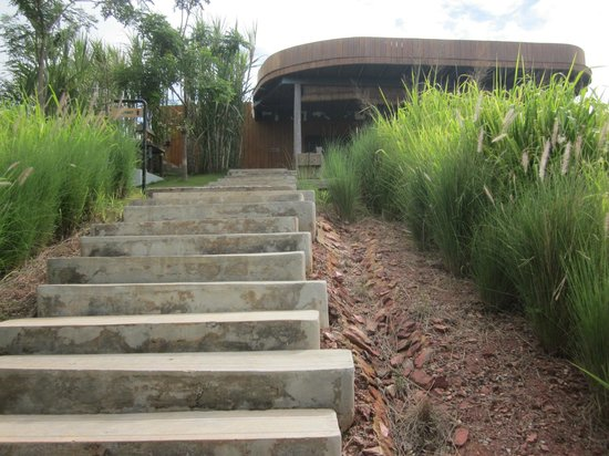 Sala Khaoyai: Long Staircase to Resort