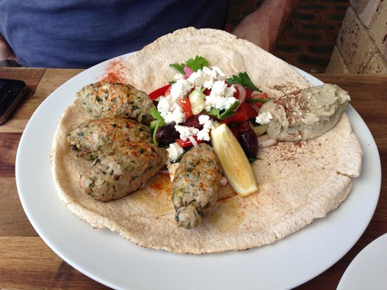 Little Lane Espresso: Chicken koftas