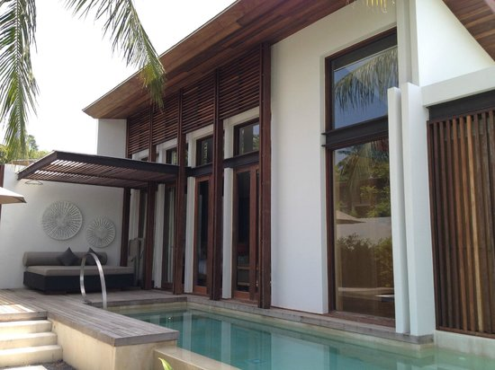 W Retreat Koh Samui:                   Private pool in the room