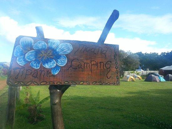 Camping Tipanie Moana: Entrance!